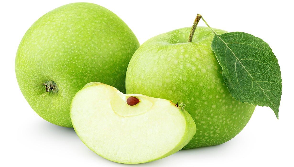 Зелена ябълка 1